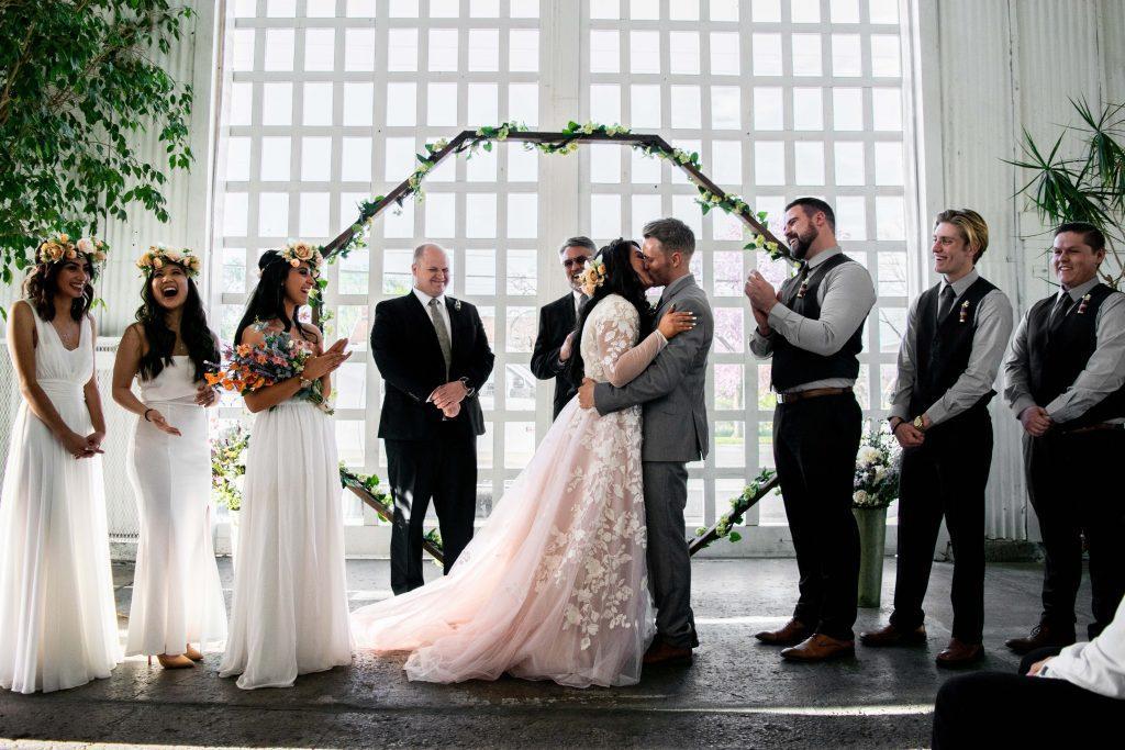Industrial-Hochzeit