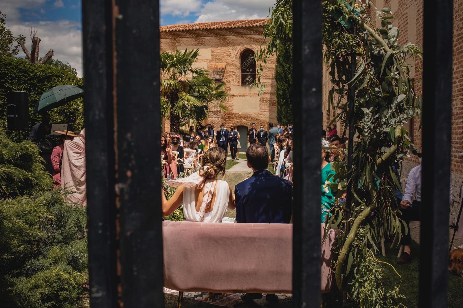 Urban wedding in Valladolid