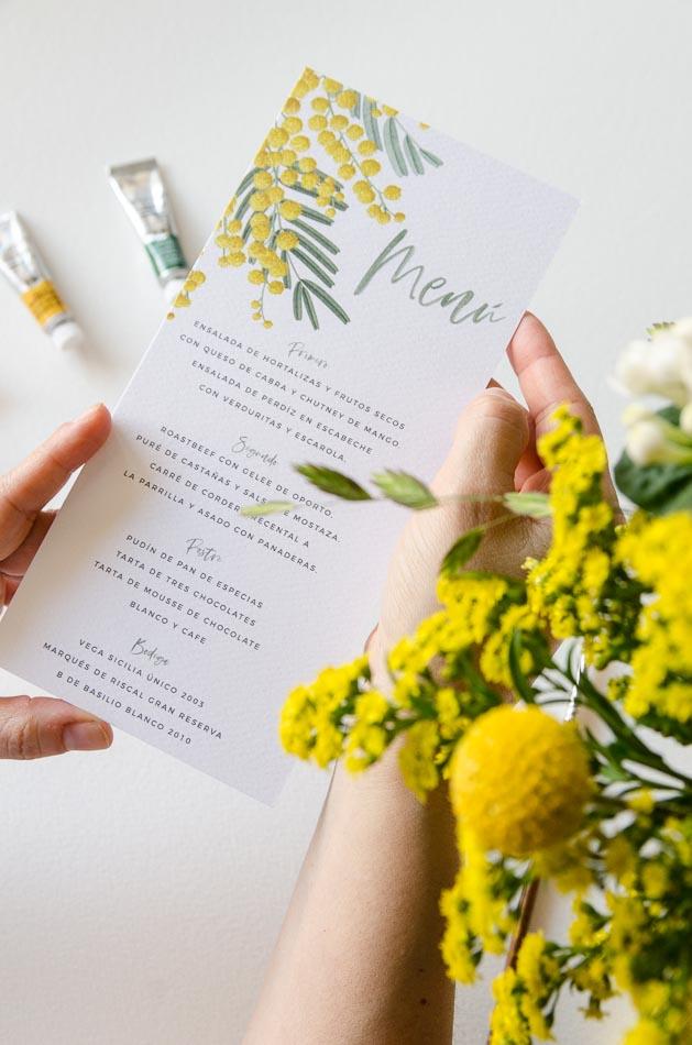 Mimose Hochzeit