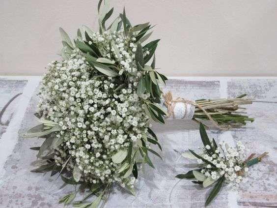 Schleierkraut Hochzeit