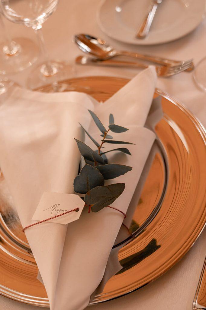 Romantische und ländische Hochzeit