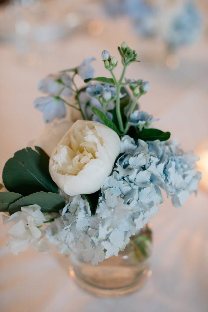 Hortensien Hochzeit